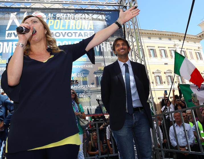 """Rossi indagato, Meloni: """"Fratelli d'Italia andrà avanti"""""""