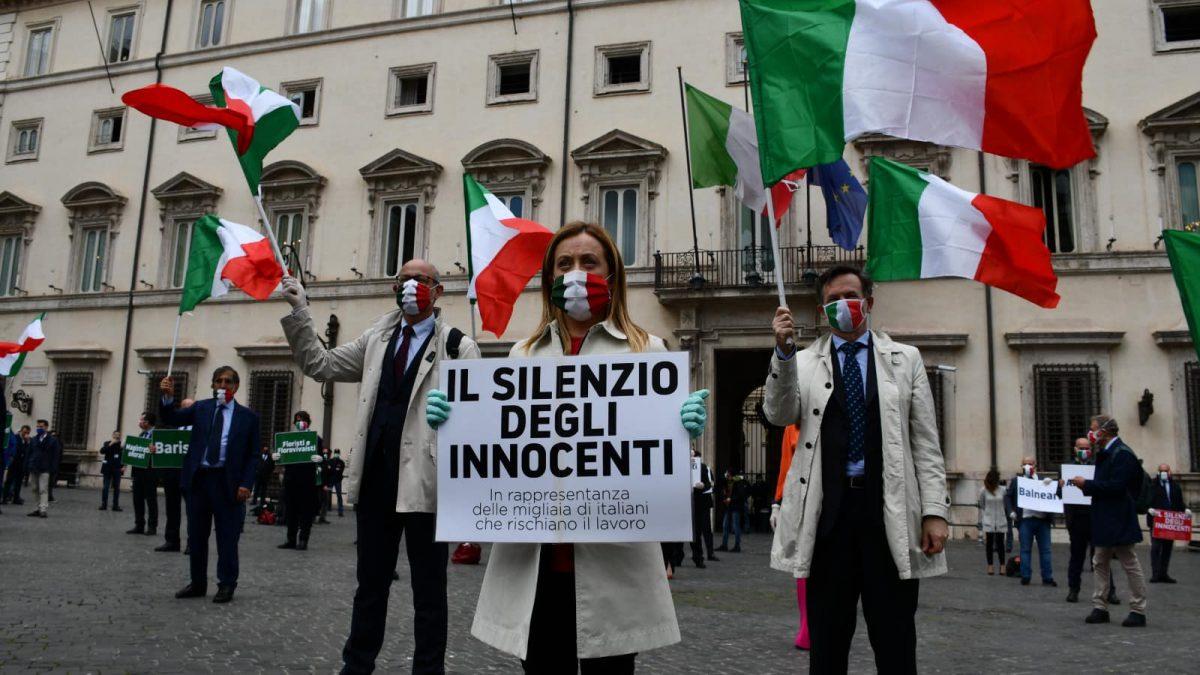 Meloni alla manifestazione di Fratelli d'Italia (2 giugno)