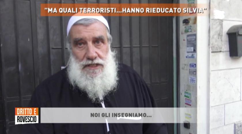 """Silvia Romano, esponente islam Roma: """"Italiani terroristi"""""""