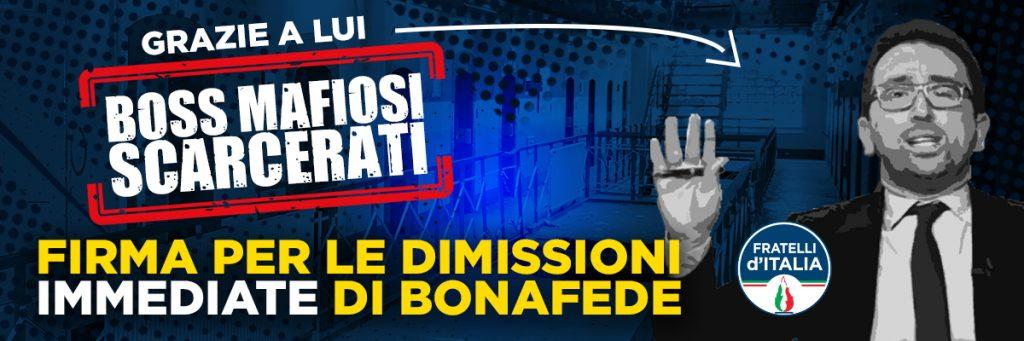 Dimissioni Bonafede