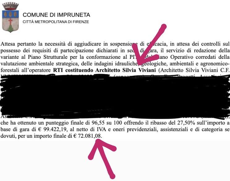 Il Comune di Impruneta affida la variante al Piano strutturale all'assessore del Comune di Livorno