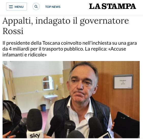 Rossi indagato dopo le denunce di Fratelli d'Italia