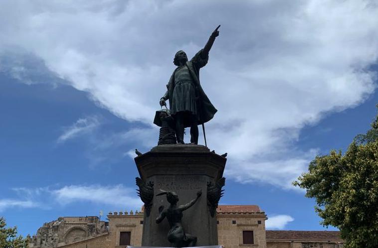 Santo Domingo: la statua di Cristoforo Colombo