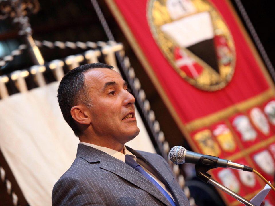 l'ex sindaco di Siena Franco Ceccuzzi, presidente della cooperativa Cft
