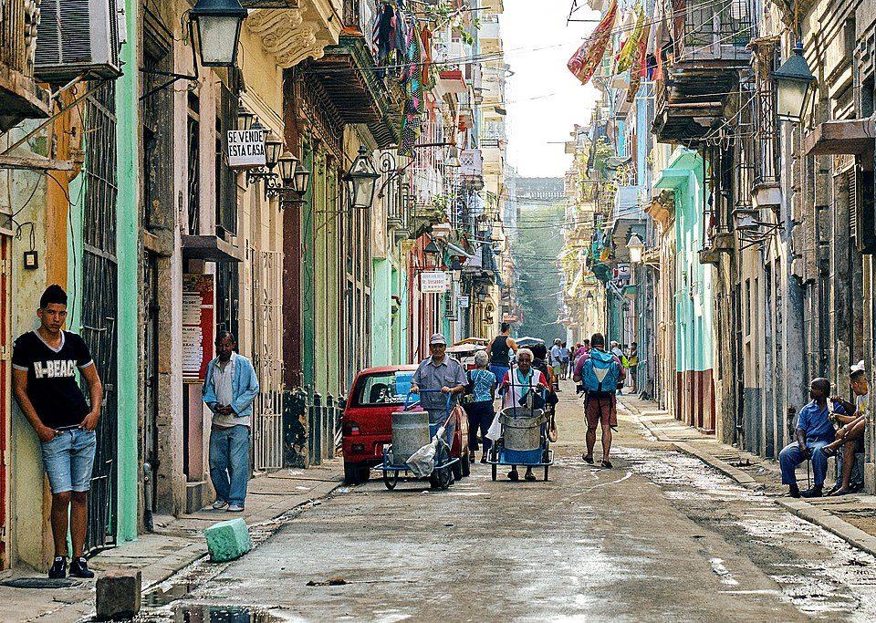 Manifestazione cubani