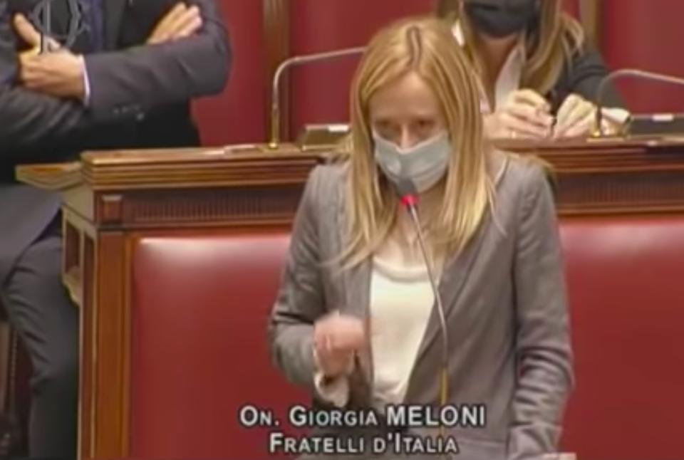 Omosessuali di destra con Giorgia Meloni in un video
