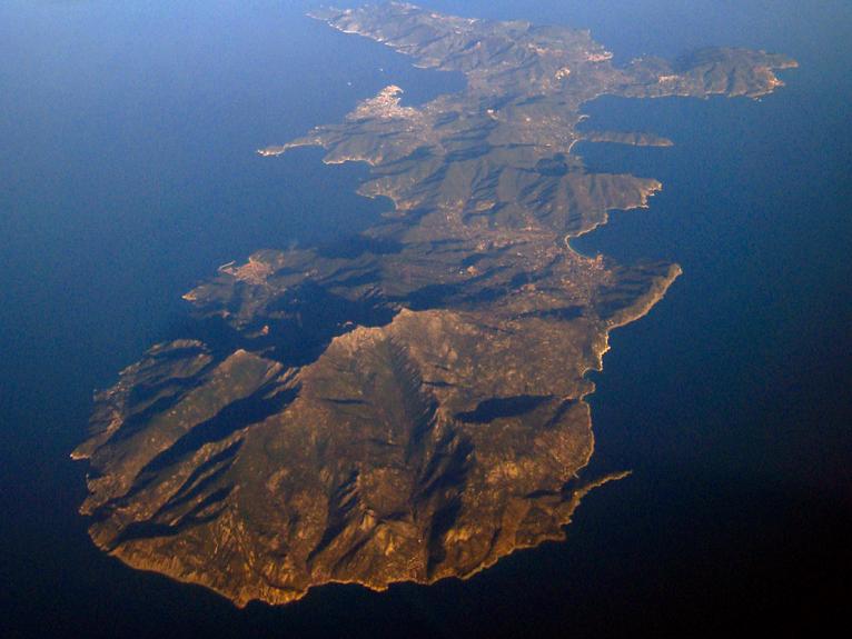 Isola d'Elba zona arancione