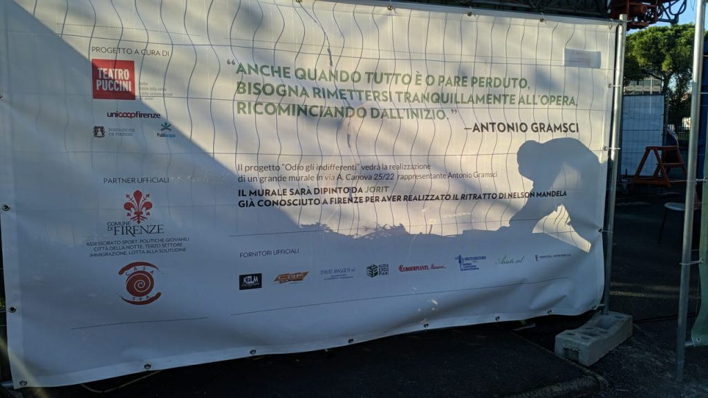 Murales Gramsci Firenze