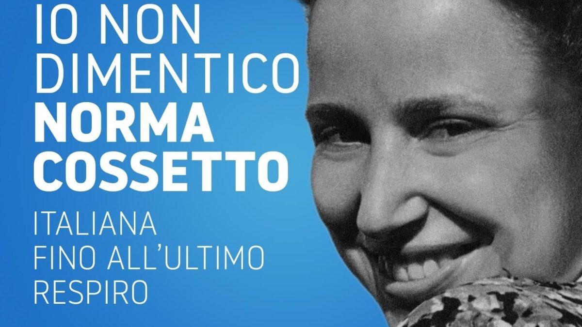 """Norma Cossetto. A Bolzano: """"Foibe propaganda fascista"""""""