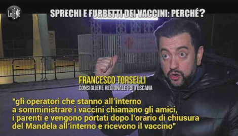 vaccini iene firenze. Francesco Torselli